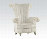 ACME Parr 59124 WHITE ACCENT CHAIR