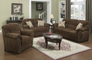 ACME Patricia 50130-50131 DARK BROWN SOFA SET