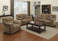 ACME Patricia 51950-51951 BROWN VELVET SOFA SET