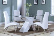 ACME Pervis 71105-71107 WH DINING TABLE SET