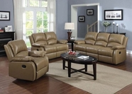 ACME Phelia 51160-51161 2 TONE TOFFEE TOP GRAIN L M. MOTION SOFA SET
