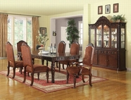 ACME Quimby 60275-60277 DARK CHERRY DINING TABLE SET