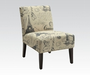 ACME Reece 96225 FABRIC ACCENT CHAIR