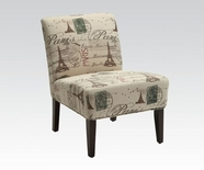 ACME Reece 96227 FABRIC ACCENT CHAIR
