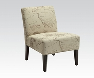 ACME Reece 96229 FABRIC ACCENT CHAIR