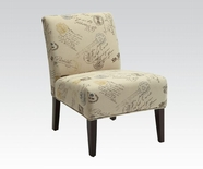 ACME Reece 96231 FABRIC ACCENT CHAIR