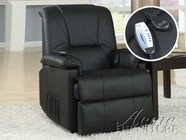 ACME Reseda10650 BLACK PU ELECTRIC LIFT CHAIR -W/P2