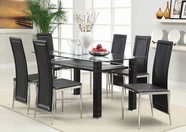 ACME Riggan 60208-60211 DINING TABLE SET