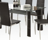 ACME Riggan 70200 BK PU DINING TABLE