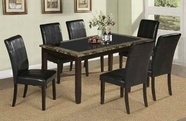 ACME Rolle 71065-71067 FAUX MARBLE DINING TABLE SET
