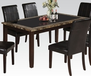 ACME Rolle 71065 FAUX MARBLE DINING TABLE