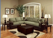 Acme 00100A Alongo Fabric Sectional