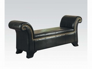 ACME Santa Cruz 05631 BY-CAST PU ROLLED-ARM BENCH