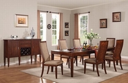 ACME Shelton 70620-70622 WALNUT DINING TABLE SET