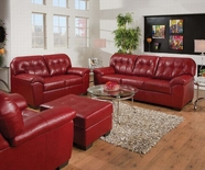 ACME Ski 50635-50636 SOHO CARDINAL BL SOFA SET