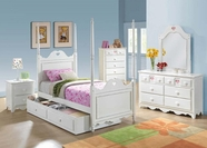 ACME Sweetheart 30170T-30174-30176-30177 WHITE YOUTH BEDROOM SET