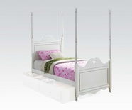 ACME Sweetheart 30170T WHITE TWIN BED