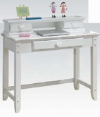 ACME Sweetheart 30180-30179 WHITE DESK AND HUTCH