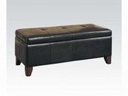 ACME Teton 05632 BYCAST PU STORAGE BENCH