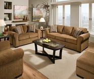ACME Torilyn 51235-51236 LOLA WALNUT SOFA SET