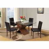 ACME Trava 70890-70892 CHERRY DINING TABLE SET