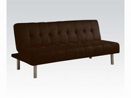 ACME Trenton 05591 CHOCOLATE MFB ADJUSTABLE SOFA