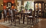 ACME Vendome 62025-62034 CHERRY SQUARE COUNTER HEIGHT TABLE SET