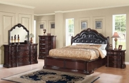 ACME Veradisia 20630Q-20635-20636 DARK CHERRY BEDROOM SET