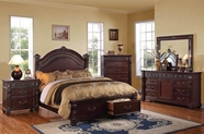 ACME Vevila 20500Q-20504-20505 CHERRY BEDROOM SET