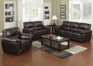 ACME Wayman 51220 LEATHER MATCH SOFA SET