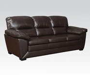 ACME Wayman 51220 TOP GRAIN LEATHER MATCH SOFA