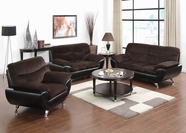 ACME Wilona 51275A-51276A KD ARM CHAMPION/ BL SOFA SET (SOFT PKING)