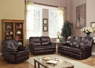 ACME Zamora 50750-50751 BROWN P. MF MOTION SOFA SET