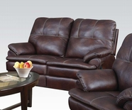 ACME Zamora 50751 BROWN P. MF MOTION LOVESEAT