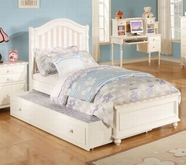 ACME Zoe 11030F WH&PINK FULL BED HB/FB/R -W/P2