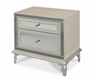 Aico 03040-09 Upholstered Nightstand
