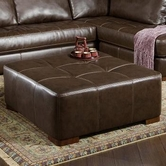 Albany 0275-32 Capri Dark Brown Cocktail Ottoman