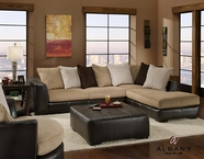 Albany 0348 San Marino Bi-Cast Sectional with Right Facing Chaise