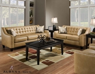 Albany 959 Bixby Camel Living Room Set