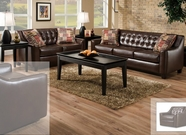 Albany 959 Bixby Brown Living Room Set