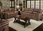 Albany 372 Shogun Mocha Sofa Set