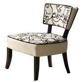 Armen Living 2008 ASHBURY FABRIC/ CHENILLE CLUB CHAIR