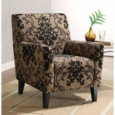 Armen Living 2010 FIESTA FABRIC CLUB CHAIR