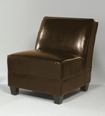 Armen Living 296 CANYON LEATHER CLUB CHAIR