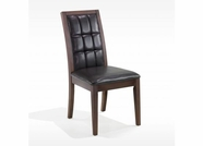 Armen Living 3129 VERONA BONDED LEATHER SIDE CHAIR