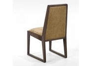 Armen Living 3152 OBLIQ FABRIC SIDE CHAIR/ SLEIGH LEGS