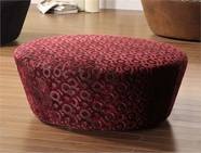 Armen Living 6022 HOSTESS FABRIC OTTOMAN