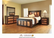 Artisan Home Furniture IFD1070 Copper Canyon Bedroom Set
