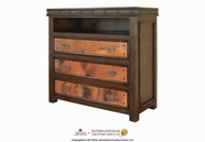 Artisan Home Furniture IFD1070CHEST-TV Copper Canyon 3 Drawer Media Chest