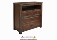 Artisan Home Furniture IFD1080CHEST-TV Cordoba 4 Drawer Media Chest